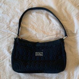 Vera Bradley Black Quilted Shoulder Bag